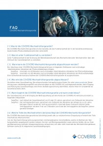FAQ COVERIS-Wechselrichtergarantie