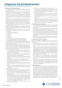 Allgemeine Garantiebedingungen für PV-Wechselrichter